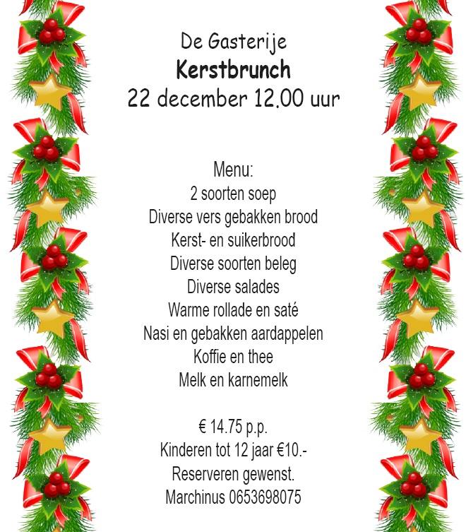 Kerstbrunch @ De Gasterije
